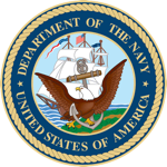 Department Of The Navy - Badge